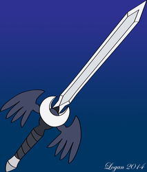 Luna's Sword by TheHeroofHarmony