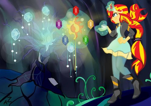 The new element of magic by MlodyxD