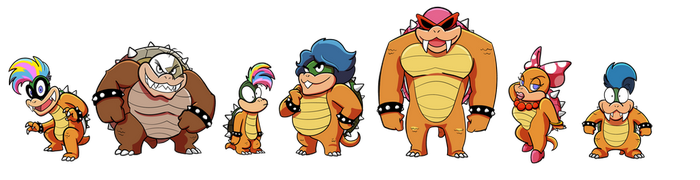 Koopa Kids Boxart by FreakingArG