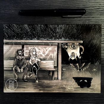 Inktober 2017 - Day 15 - Mysterious by Py3rr