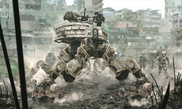 Babel 08. UGV 01 by duster132