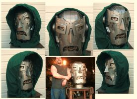 300lb Giant  Steel Doctor Doom by BROKENHILL