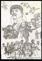 Expendables 2 commission work in progress by StevenWilcox
