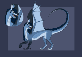 Hybrid dragon auction [OPEN] by TheAdoptArtist