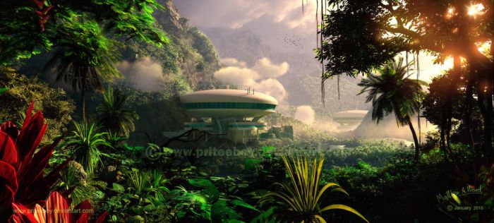 Rainforest Residence by Chromattix