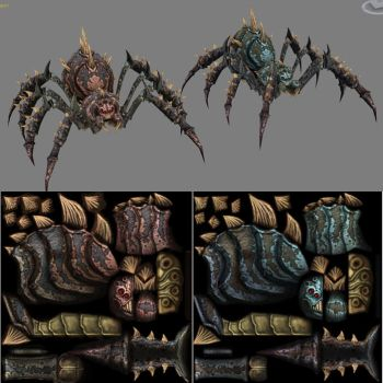 Cave Spiders by CaseyD2K