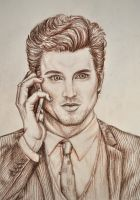 Neal Caffrey in White Collar by AinhoaLG
