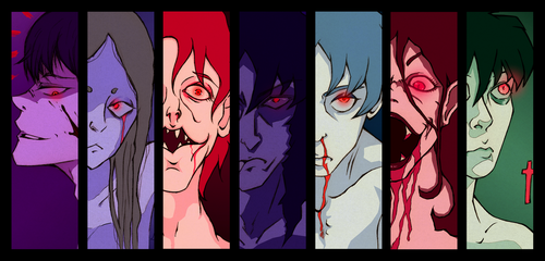 Seven deadly sins - The demons in by Lily-oftheValley