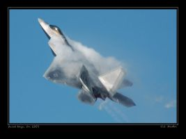F-22A Climb by jdmimages