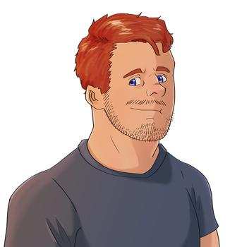Profile-pic-red-head by MagicFanny