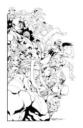 Street Fighter 25th Anniversary Tribute by gaets