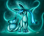 Glaceon by MaishaLyca