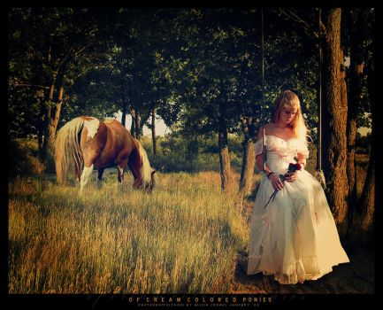 Of Cream Colored Ponies by nevermoregraphix