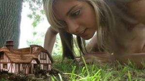 Giantess Adrianna in wonderland by lowerrider