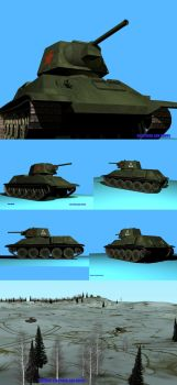 T 34 by urvant