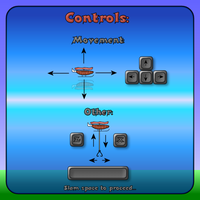 Bacon Copter Controls Screen by Scarzzurs