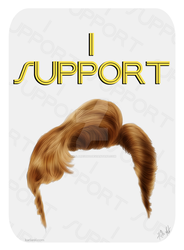 I Support Him by karlarei2003