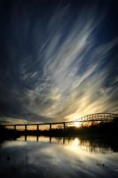 Sunset Span by tfavretto
