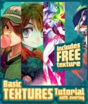Free Texture - Basic Tutorial by SaiyaGina