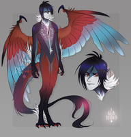 Agami Heron Harpy [Adopt AUCTION] CLOSED by BeSSeB