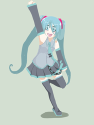Miku: Lineless by stars-shinebright