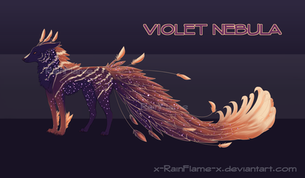 Paradse Canine Violet Nebula Adopt- Closed by x-RainFlame-x