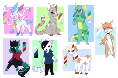 All Ocs by MotherMinix