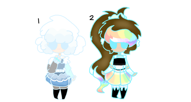 Clouds and Rainbows[CLOSED] by DreamyTeamy