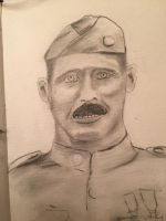 Alvin York - WW1 hero by GentlestGiant