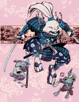 Usagi Yojimbo colors by Stephen-Green