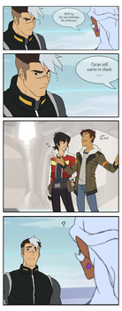 Voltron Mini Comic by yu-oka