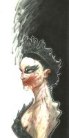 THE BLACK SWAN ZOMBIE by leagueof1