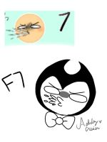 F7 Bendy by cutelittlepikakitty