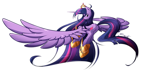 Princess Twilight Sparkle by secret-pony