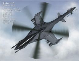 Stalker Attack Helicopter by Aerythes