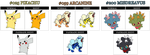 Pkmn fanmade shiny colors by Championx91