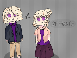 APH 2P France and 2P Nyo France by united-drawer