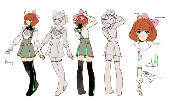 Penny concept by einlee