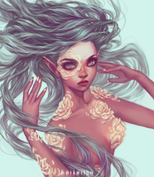 Mioree's Petal Redraw - Draw This In Your Style by merkerinn