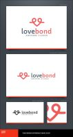 Love Bond Logo Template by LogoSpot