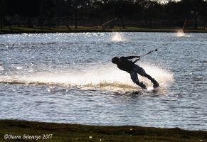 Cable Water Skiing #1 by Oksana007