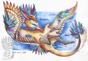 \\The Happiness Of Flight// by Drerika