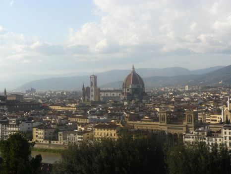 Florence view II by Horimono