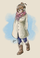 OW - Casual Mei by RockingTheWorld