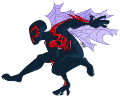 Leaping to 2099 by SystemEmotions