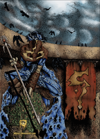 Soul Reaver cover coloured by Bluetabbycat
