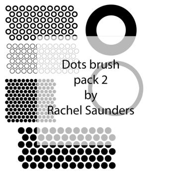 Dots brush set 2 by Random-Acts-Stock