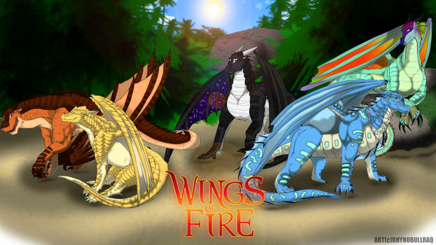 Wings of Fire by RhynoBullraq
