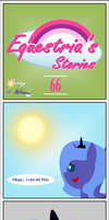 Equestria's Stories - 66 (Sunny and Woona) by Zacatron94