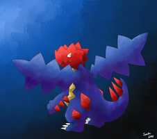 Druddigon Paint